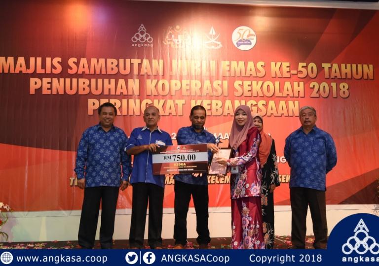 The Launching of 50th Anniversary National School Cooperative Establishment Celebration